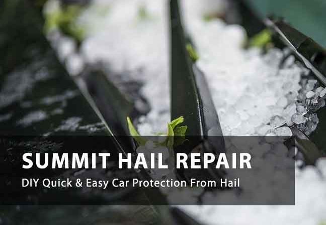 DIY Car Hail Protection