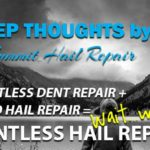 DENTLESS HAIL REPAIR
