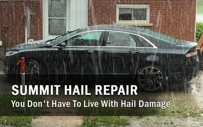Hail Damage Repair Denver