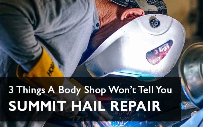 Body Shop - Hail Repair