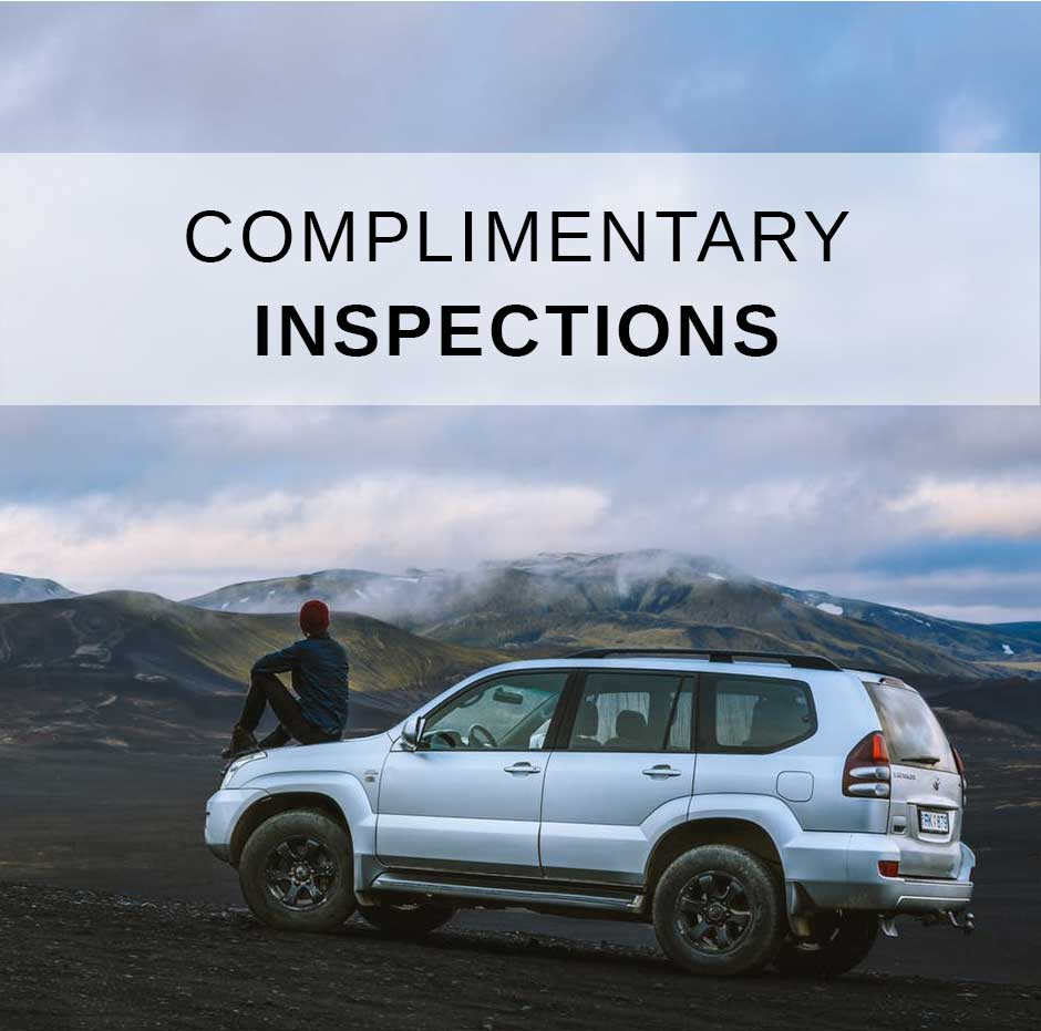 Complimentary Hail Damage Inspection